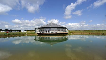 Essex Wildlife Trust's visitor and nature reserve at Abberton Reservoir,near Colchester.