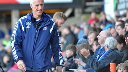 Ipswich Town manager Mick McCarthy. Photo: SARAH LUCY BROWN