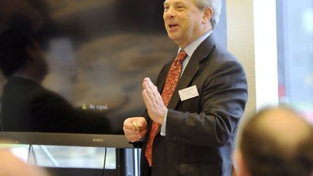 Jeremy Moody, secretary to the CAAV, the Central Association of Agricultural Valuers, spoke at a bre