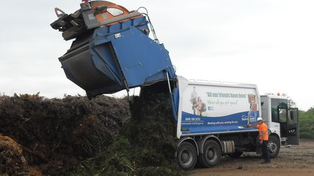 South Norfolk Council garden waste scheme collects around 200 tonnes of grass and hedge cutting and