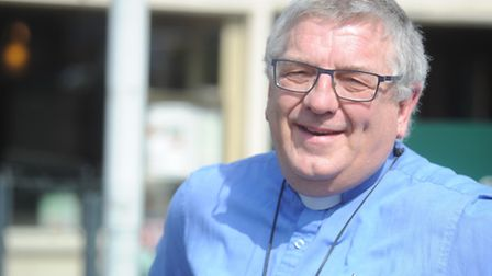 Revd. Andrew Dotchin who was refused entry to The Wine Bar because he was wearing sandals.