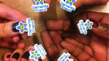 More than 1,000 Greene King employees have sign up as 'Demntia Friends' under an initiative by the A