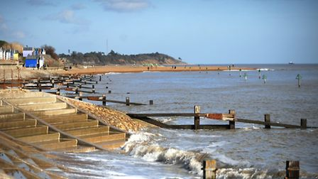 News March 2010 weather A beautiful sunny March day on the sea front in Old Felixstowe. MyPhotos