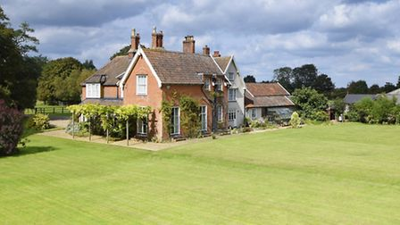 Living in Style: This former farmhouse provides plenty of familt accommodation, is surrounded by mat