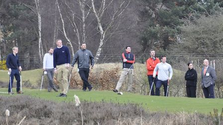 Some of the delegates from golf clubs across the UK who attended a BIGGA (British and International