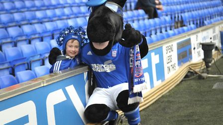 Ipswich Town FC V Bournemouth FC.