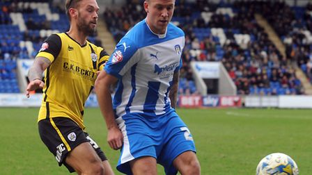 George Moncur, who came close to scoring an equaliser for the U's early in the second half at Covent