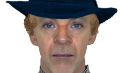 An e-fit likeness of the fair haired man