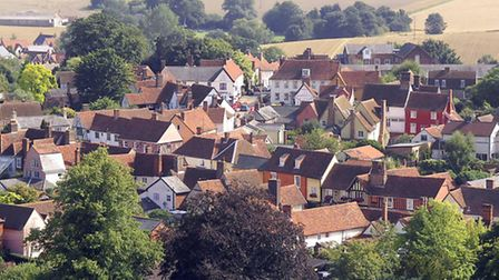 Lavenham in the Babergh district. All 43 council seats are up for re-election on May 7