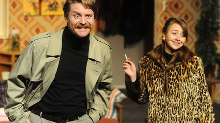 A Day in the Death of Joe Egg at The Sir John Mills Theatre, Ipswich with Liam Gregory as Freddie, l