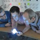 From left, Andrew McCulloch, Tom Etheridge and Nigel Blair of Minima Design.