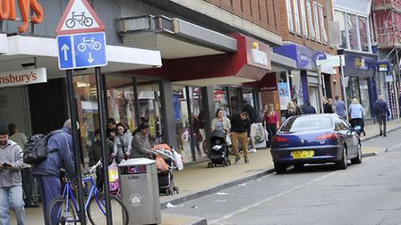 Does Ipswich have one of the unhealthiest town centres in the country?