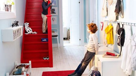 Hallways .... spaces that work in the home