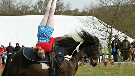 The Galloping Acrobatics display team will feature at the 2015 Framlingham County Show.