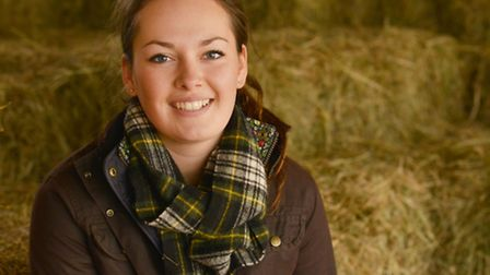 Olivia Nicholson, an agriculture student at Harper Adams University, in Shropshire, has spent recent