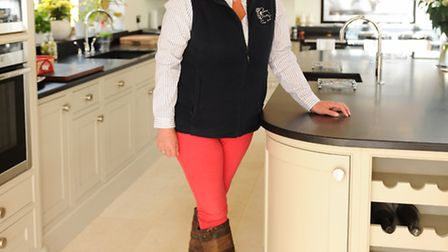 Tory Lugsden, of Suffolk Young Farmers, will be dressed for showing in the sheep competition at the