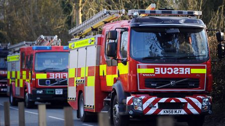 Firefighters have tackled a blaze in High Street, Aldeburgh.