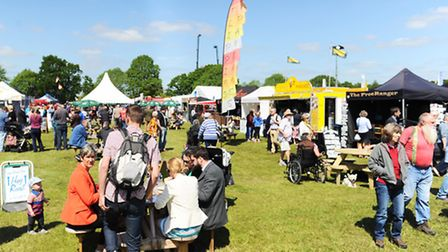 Beautiful day for the first day of the Suffolk show