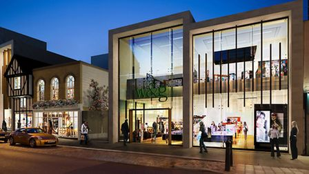 Work is well underway on this planned �30m development on Williams & Griffin, the type of investment