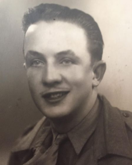 Ronald Smith, father of Stephen Smith, as a young man. PHOTO: Stephen Smith
