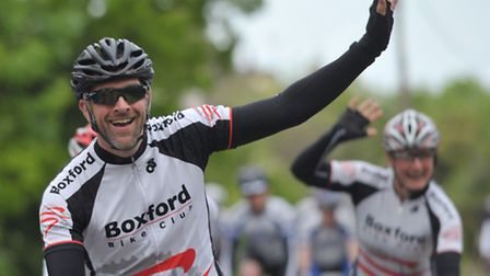 Paul Nixon has organised the Bergholt Bomb Along bike ride in aid of the Alzheimer's Society.