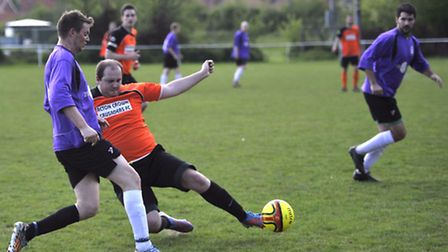 The Leestock United play in the annual fundraising match in build up to the LeeStock Festival agains