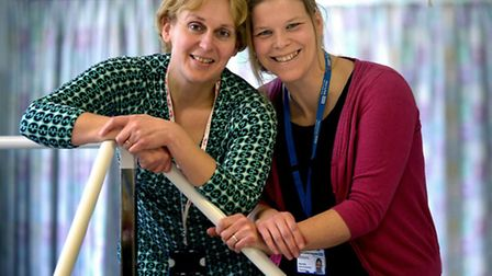 Trudi Dunn and Nina Finlay, senior physiotherapists at West Suffolk Hospital, have both qualified as