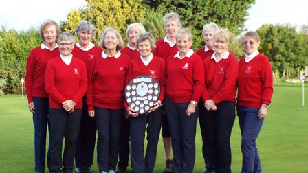 Another Diss Golf Club Ladies team also won the Suffolk Seniors Jubilee Shield. Picture: Steph Mendh