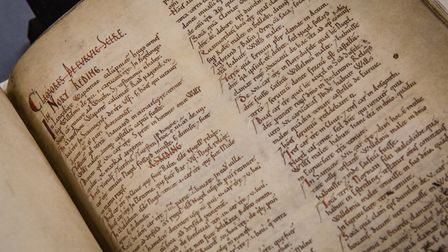 The Domesday Book, which will be showing at the new British Library Anglo Saxon Kingdoms exhibition
