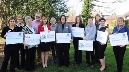 Members of Hadleigh Local Dementia Action Alliance