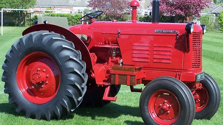 A restored David Brown 50D which sold for £26,500 at the Cheffins Cambridge Vintage Sale on April 25