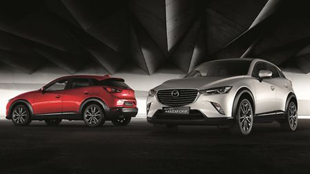 The new CX-3 compact crossover will be the star of exclusive preview events at Donalds Mazda at Bury