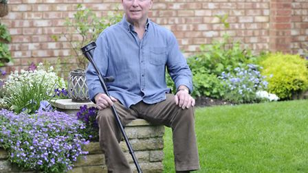 Robbie Johns, who had polio when he was two and thought it had stablised, has now developed Post-Pol
