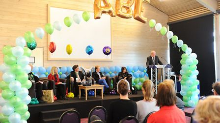 The ISSBA hustings event at Trinity Park, Ipswich.
