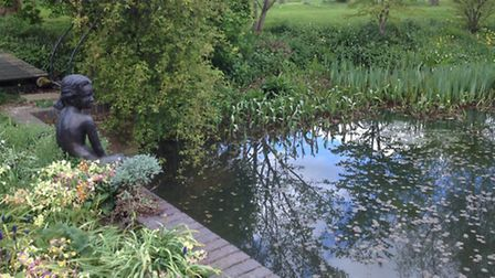 So peaceful: The pond at Fenners
