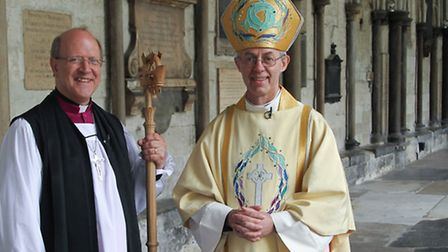 The Reverend Canon Martin Seeley, who was ordained as bishop ready for his new role as Bishop of St