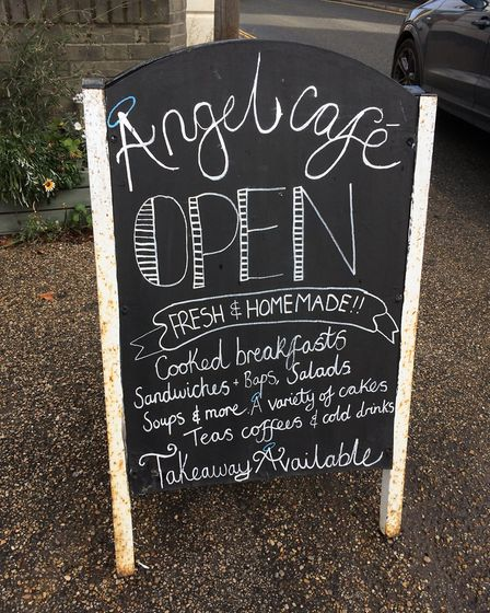 Rachael and Jamie Aitken are taking over The Angel Cafe in Diss. PHOTO: Sophie Smith