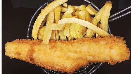 Your fish and chips will help the charity Walking With The Wounded as part of a charity day at Fair