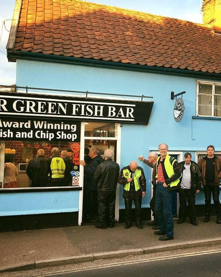 All takings at Fair Green Fish Bar in Diss on November 18 will be donated to Walking With The Wounde