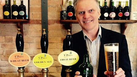 Steve Magnall, chief executive of St Peter's Brewery.