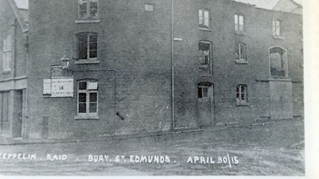 The building which is now Denny Bros in St Andrew's Street South was also bombed during the raid.
