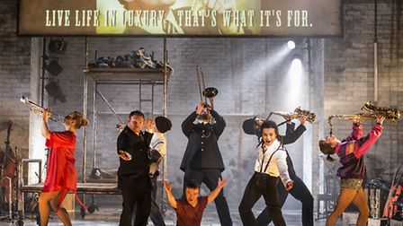 The Threepenny Opera - a Graeae Theatre Company. co production with the New Wolsey Theatre, Ipswi