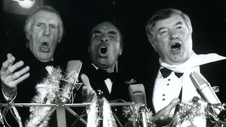 The 3 Fivers, Bruce Forsyth, Kenny Lynch and Jimmy Tarbuck
