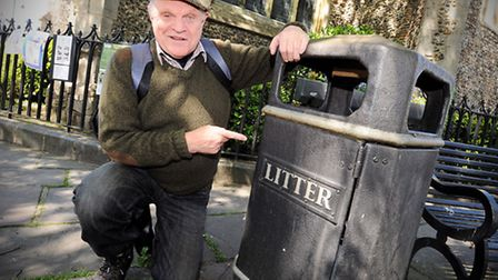 Charlie Haylock will be walking across Suffolk in protest to the increasing amounts of litter on Suf