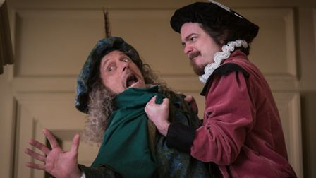 Shakespeare gets to grips with Christopher Marlowe in Suzanne Hawkes' new play Shakespeare in Suffol