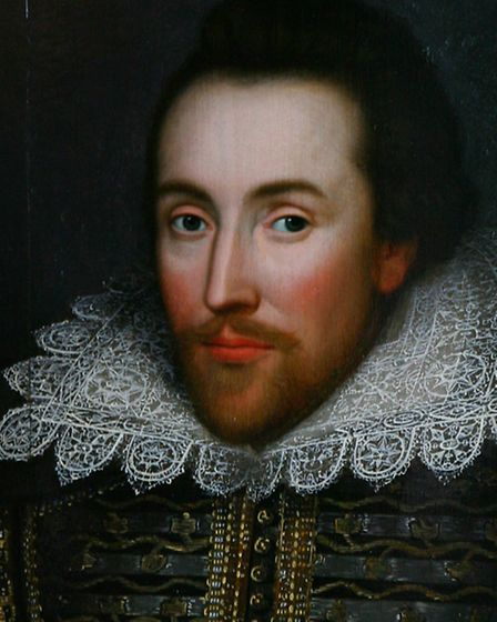 A newly discovered portrait of William Shakespeare painted during his lifetime. This is how he would