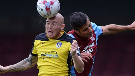 Sean Clohessy, who has left Colchester United with a year still to go on his contract