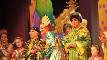 Final curtain for the last Dennis Lowe panto at Felixstowe's Spa Pavilion - after missing two Christ