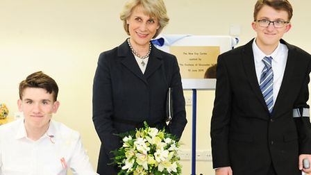 Her Royal Highness the Duchess of Gloucester visits St Elizabeth Hospice to officially open their ne