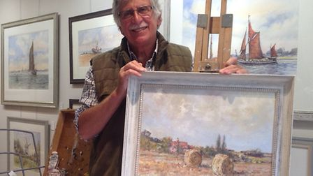 Suffolk Open Studios 2015: Terry Jeffrey has been a full time artist in watercolour, oil and drawing